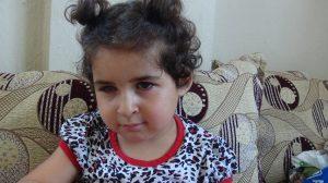 3 yaşındaki Kübra'nın ameliyat sonrası dünyası karardı