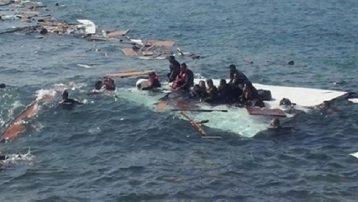 KKTC açıklarında mülteci teknesi battı