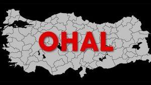 Valilik ve kaymakamlıklardaki OHAL büroları kapatıldı