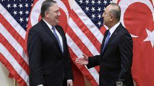 ABD Dışişleri Bakanı Pompeo, Mevlüt Çavuşoğlu ile görüştü
