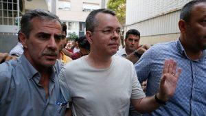 Rahip Brunson'ın avukatının yaptığı itiraz reddedildi