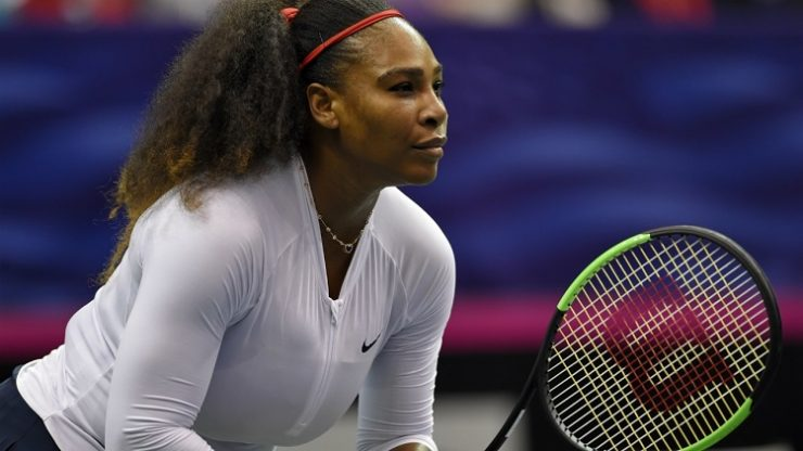 Serena Williams finale yükseldi
