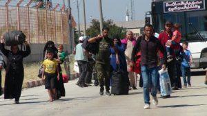 Bayram ziyaretine giden 22 bin 700 Suriyeli döndü