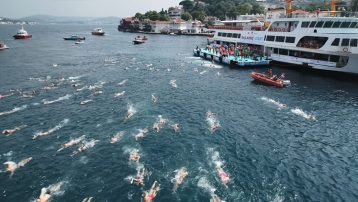 Boğaziçi Kıtalararası Yüzme Yarışı tamamlandı