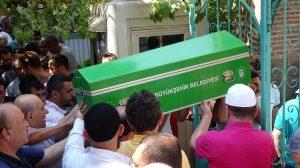 Bursa'da balkondan düşen 2 yaşındaki Abdulvahap toprağa verildi