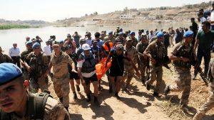 Dicle Nehri'nde kaybolan 2 işçiden 1'inin cesedine ulaşıldı