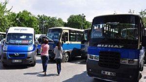 'Ankara'da dolmuş ücretlerine zam' iddiası