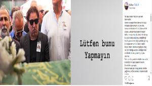 Dünyaca ünlü piyanist ve besteci Fazıl Say, annesi Ayşe Gürgün Say'ın cenaze töreni hakkında yapılan yorumlara tepki gösterdi.