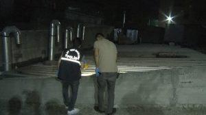 Çatıdan düşen 63 yaşındaki bekçi hayatını kaybetti