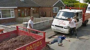 Google Street View'da görenler şok oldu