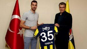 Harun Tekin resmen Fenerbahçe'de