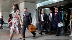 ABD'ye giden Türk heyeti döndü