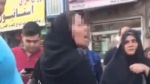 Din adamının tehdit ettiği kadın hicabını çıkardı