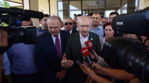Kılıçdaroğlu: PKK ve bütün terör örgütlerini şiddetle kınıyorum