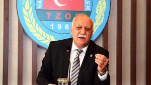 TZOB Genel Başkanı Şemsi Bayraktar: Fındıkta fiyat 15 liranın altında olmamalı