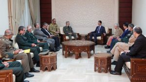 Tahran ve Şam, Suriye ordusunun yeniden inşası için anlaştı