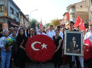 Eskişehir'de, 'Kuruluş Yürüyüşü'