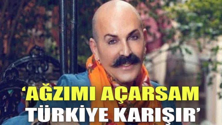 Cemil İpekçi: Ağzımı açarsam Türkiye karışır