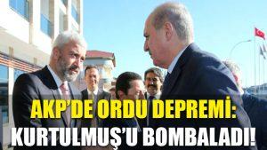 AKP'de Ordu depremi: Kurtulmuş'u bombaladı!