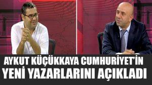 Cumhuriyet Genel Yayın Yönetmeni yeni yazarları açıkladı