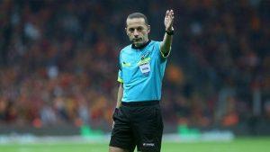 Cüneyt Çakır'a Şampiyonlar Ligi'nde dev görev