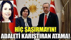 Danıştay Başkanı'nın kızı Beştepe'ye atandı!