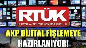 AKP dijital fişlemeye hazırlanıyor!