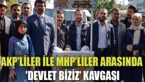 AKP'liler ile MHP'liler arasında 'devlet biziz' kavgası: Polis müdahale etti