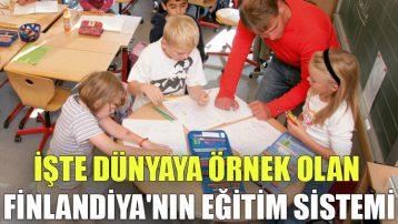 İşte dünyaya örnek olan Finlandiya'nın eğitim sistemi
