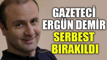 İntihar haberini yapan gazeteci adli kontrol şartıyla serbest bırakıldı