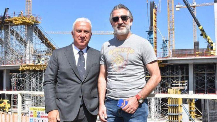 Göztepe'nin stadı seneye tamam!