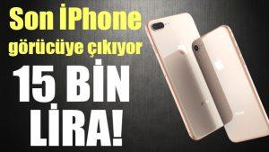 Yeni iPhone fiyatları belli oldu!