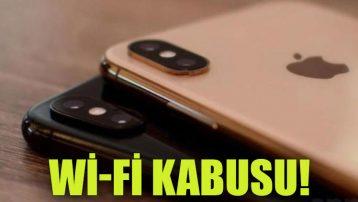 iPhone XS ve iPhone XS Max'te WiFi kabusu