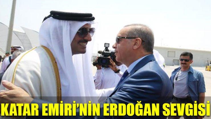 Katar Emiri'nin Erdoğan sevgisi