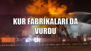 Kur fabrikaları da vurdu