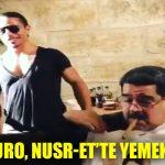 Venezuela lideri Maduro, Nusr-Et'te yemek yedi