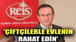Mehmet Reis: Üniversitelerde genç kızlarımıza 'Çiftçilerle evlenin, rahat edin' diyorum