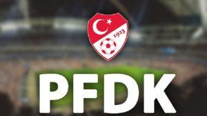 PFDK'dan Fenerbahçe ve Trabzonspor'a ceza