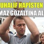 Rus muhalif hapisten çıkar çıkmaz gözaltına alındı