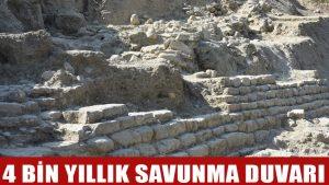 Maydos Kilisetepe Höyüğü'nde 4 bin yıllık savunma duvarı kalıntıları