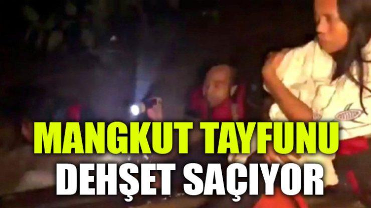 Mangkut Tayfunu dehşet saçıyor: 25 ölü