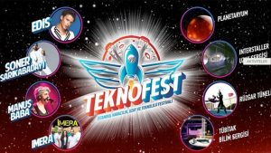 Erdoğan'ın damadı 3. Havalimanı'nda Teknofest yapıyor