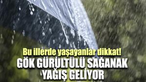 Bu illerde yaşayanlar dikkat! Gök gürültülü sağanak yağış geliyor
