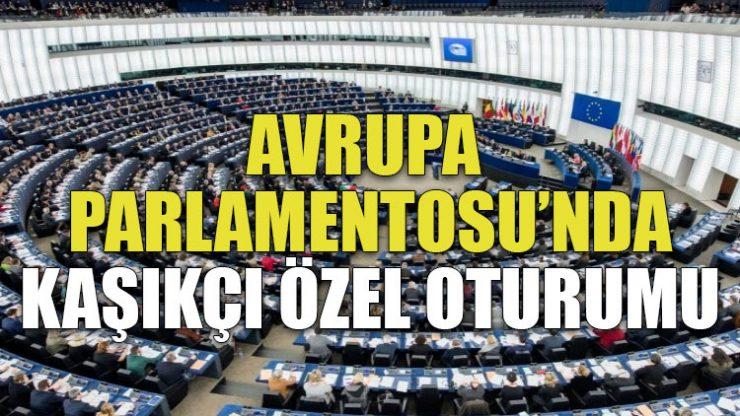 Avrupa Parlamentosu'nda Kaşıkçı özel oturumu
