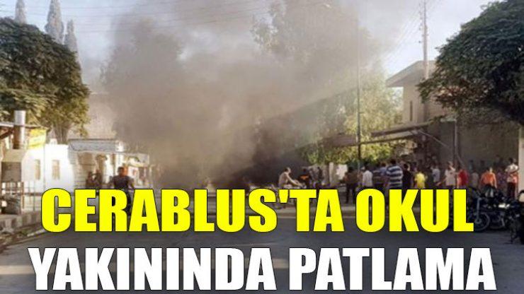 Cerablus'ta okul yakınında patlama