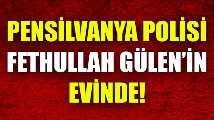 ABD basını: Polis, Fethullah Gülen'in evinde meydana gelen bir olayı soruşturuyor