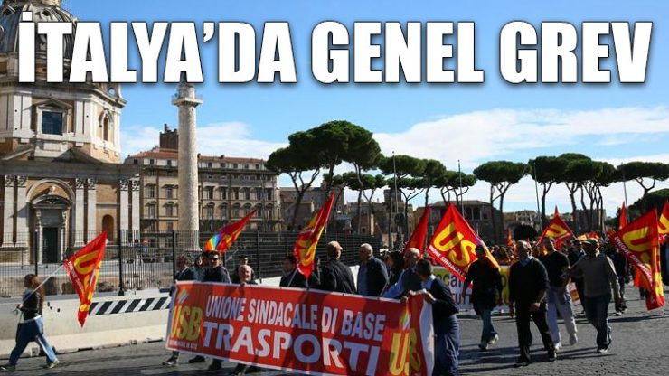 İtayla'da genel grev