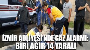 İzmir Adliyesi'nde gaz kaçağı: 1'i ağır 5 kişi zehirlendi