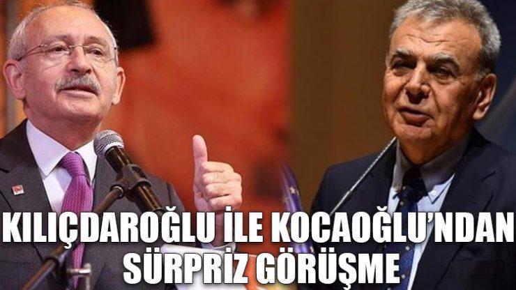 Kılıçdaroğlu ile Kocaoğlu'ndan sürpriz görüşme