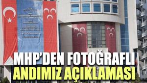 MHP'den dev 'Andımız' pankartı